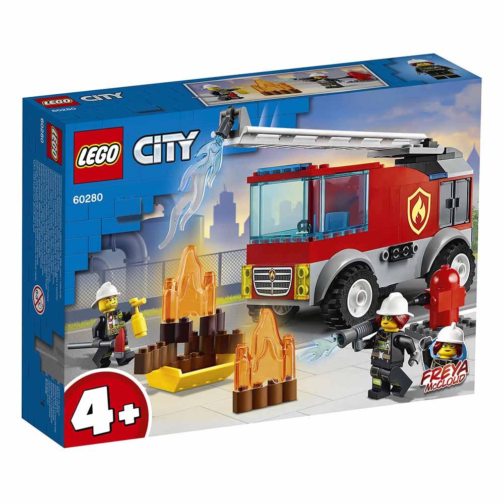 """60280 CITY """"Пожарная машина с лестницей"""""""
