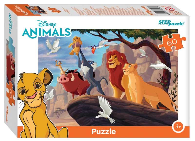 """81206 Мозаика """"puzzle"""" 60 """"Король Лев"""" (Disney)"""
