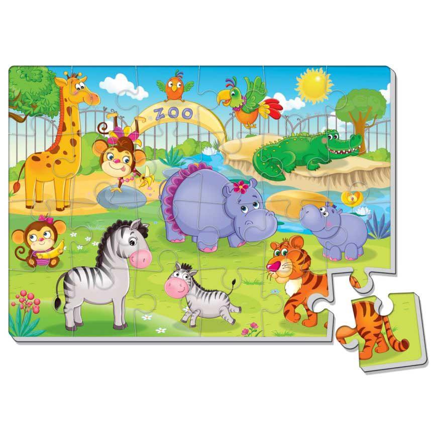 VT1102-13 Мягкие пазлы Зоопарк