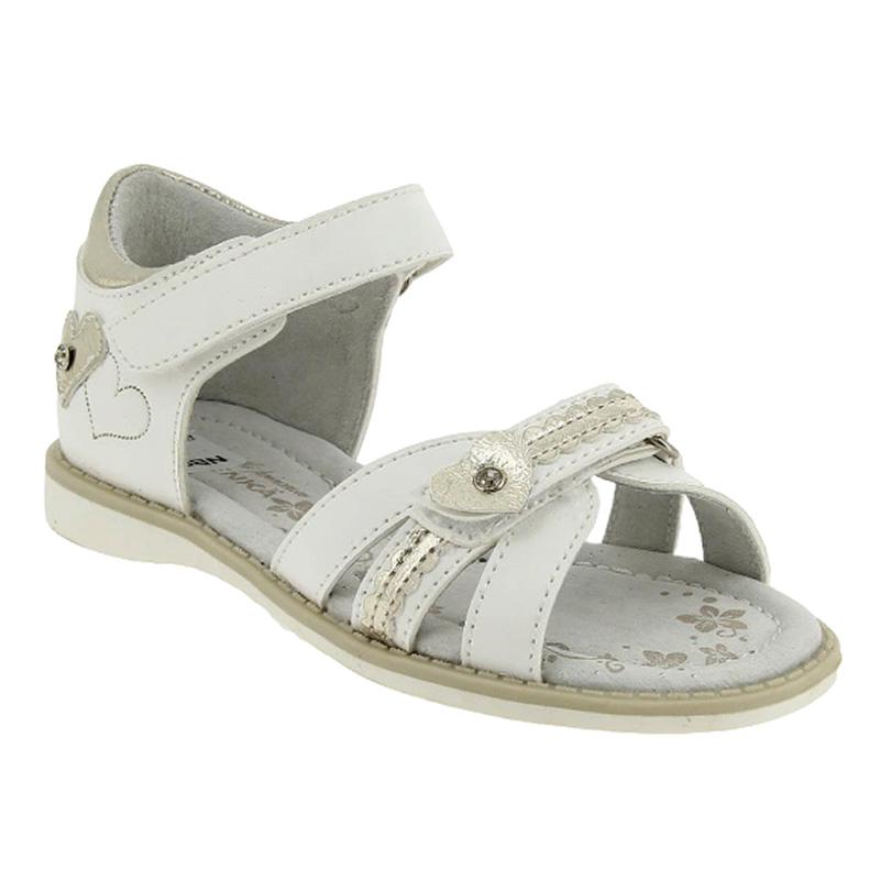 XGE_9316_white-silver туфли летние 26-31