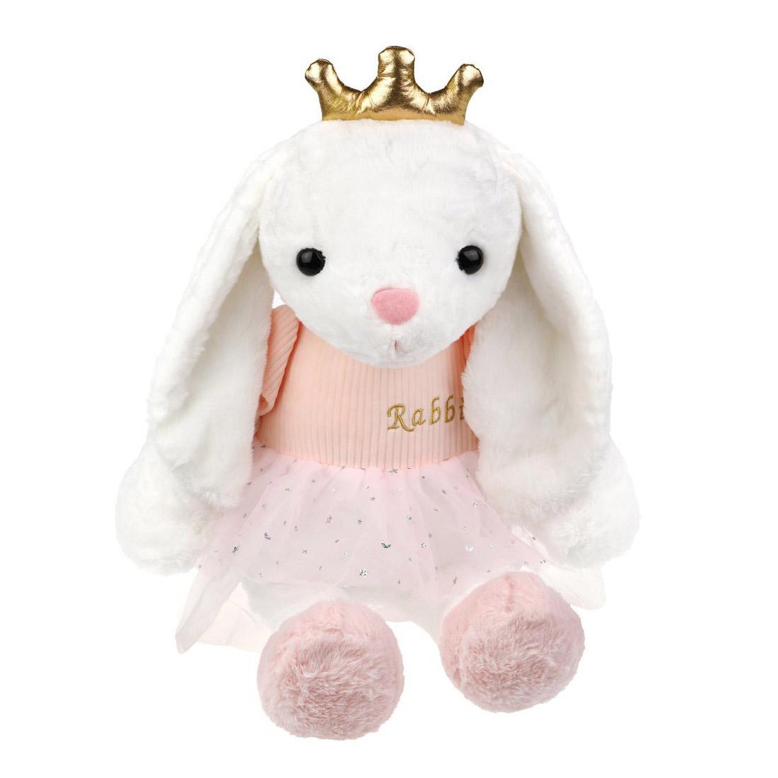 681875 Зайка Принцесса 45см