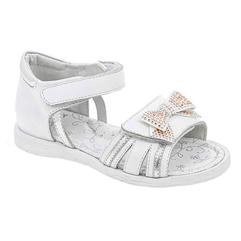 HUJ_567-12_white-silver туфли летние 26-31