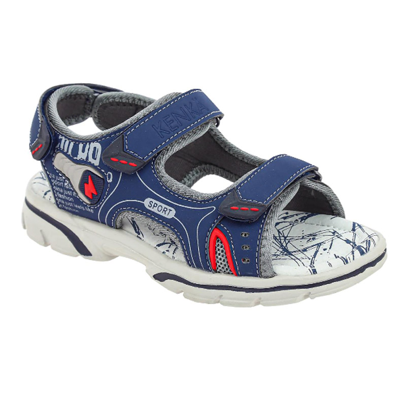 HUJ_36580_navy туфли летние 31-36