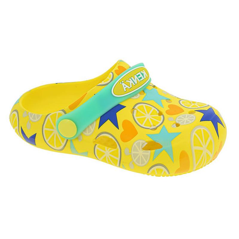 DGB_3305-2_yellow туфли летние (пляжные) 23-27