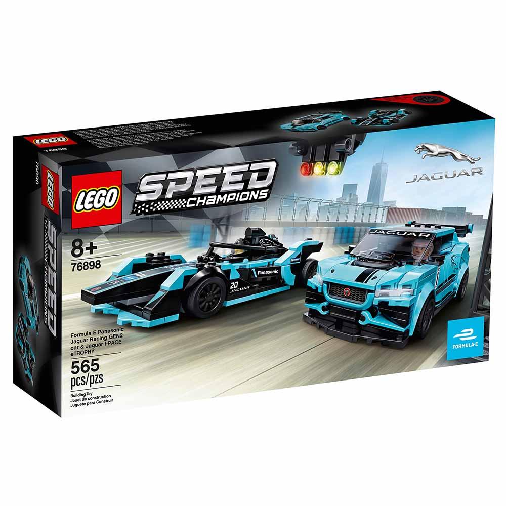"76898 Speed Champions ""Formula E Panasonic Jaguar Racing GEN2 car & Jaguar IPAC"