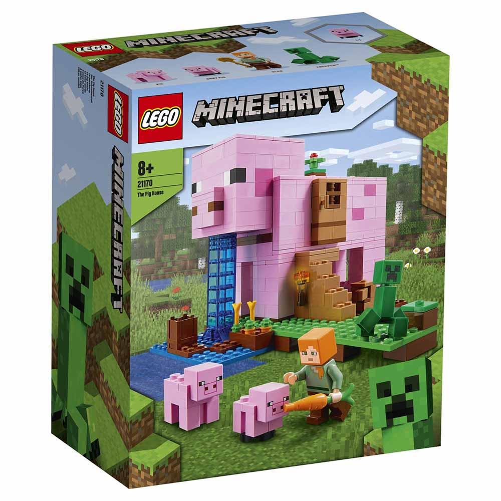 """21170 Minecraft """"Дом-свинья"""""""
