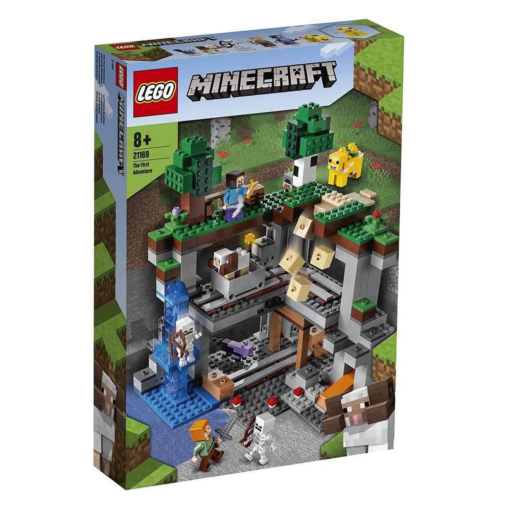 """21169 Minecraft """"Первое приключение"""""""