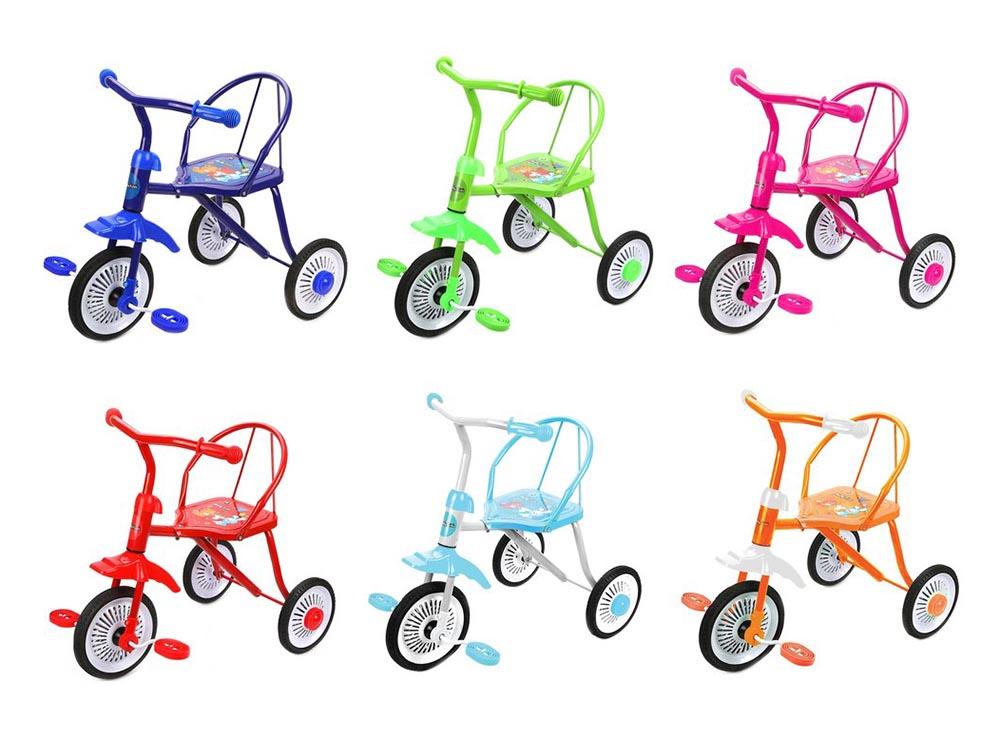 Велосипед 3-х кол. Друзья 9/8' кол. 6 цветов 641329