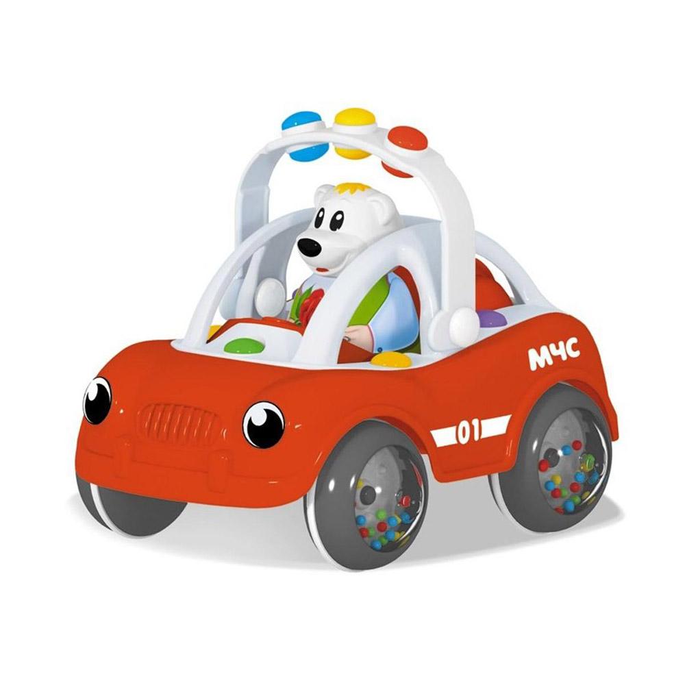 01961 Машинка «Ватрушка. Пожарная»