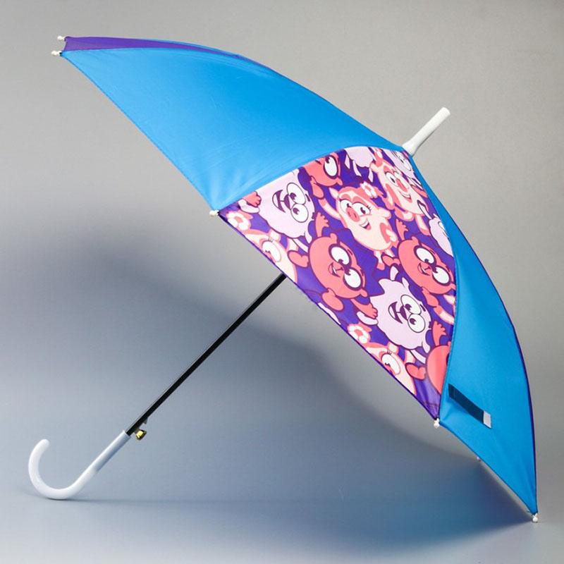 4695680 Зонт детский, Смешарики, 8 спиц d=70 см