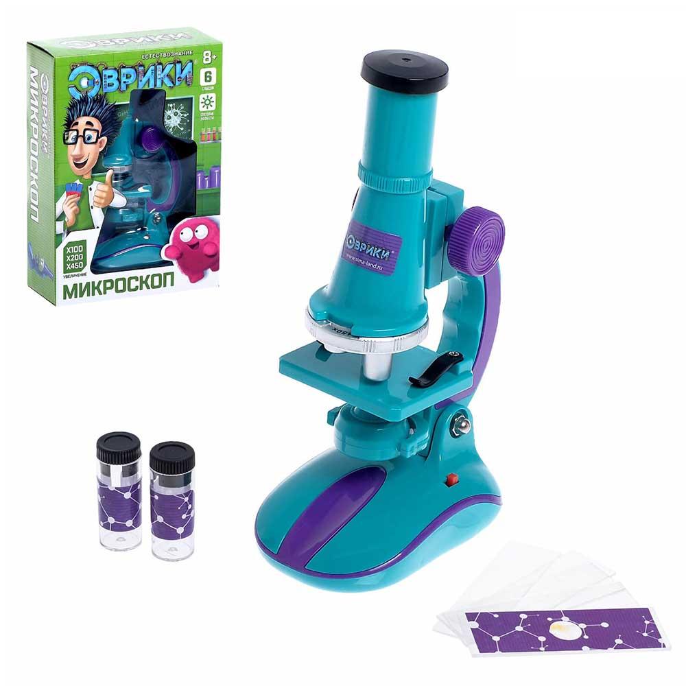 1629483 Микроскоп детский с набором для исследований