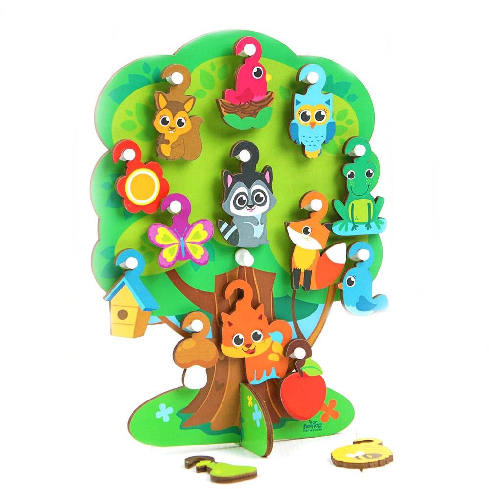 """4287146 Развивающая игрушка """"Лесное дерево"""""""