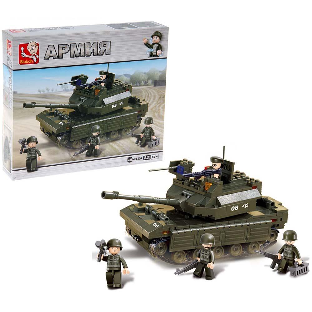 4898226 Конструктор «Штурмовой танк», 312 деталей