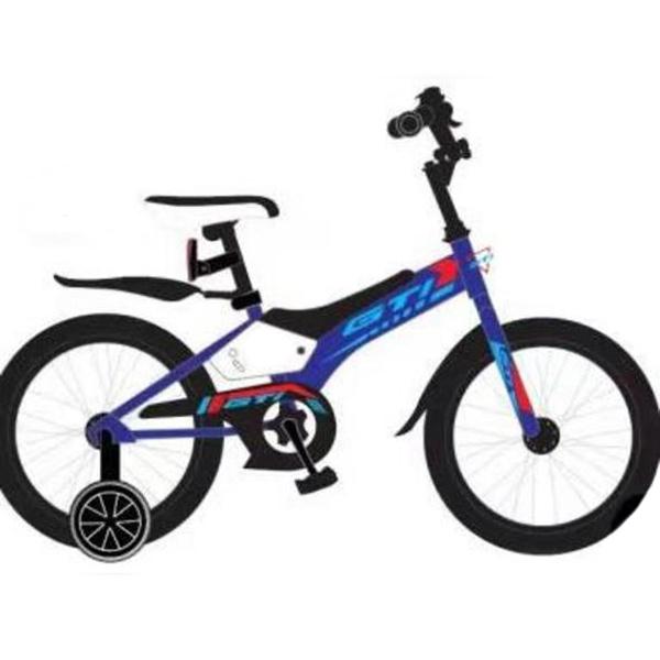 Велосипед 2-х колесный 18 GTI мальчик