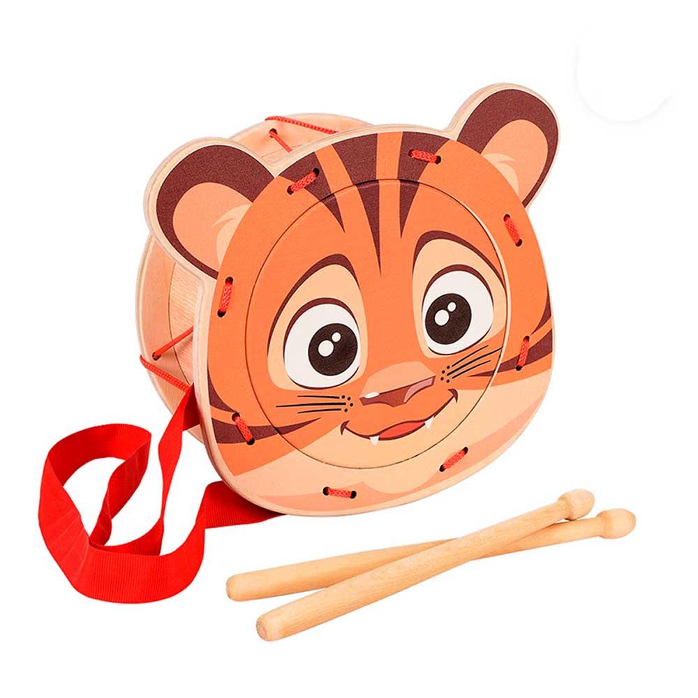 Игрушка детская барабан «Тигрёнок» (9 шт)