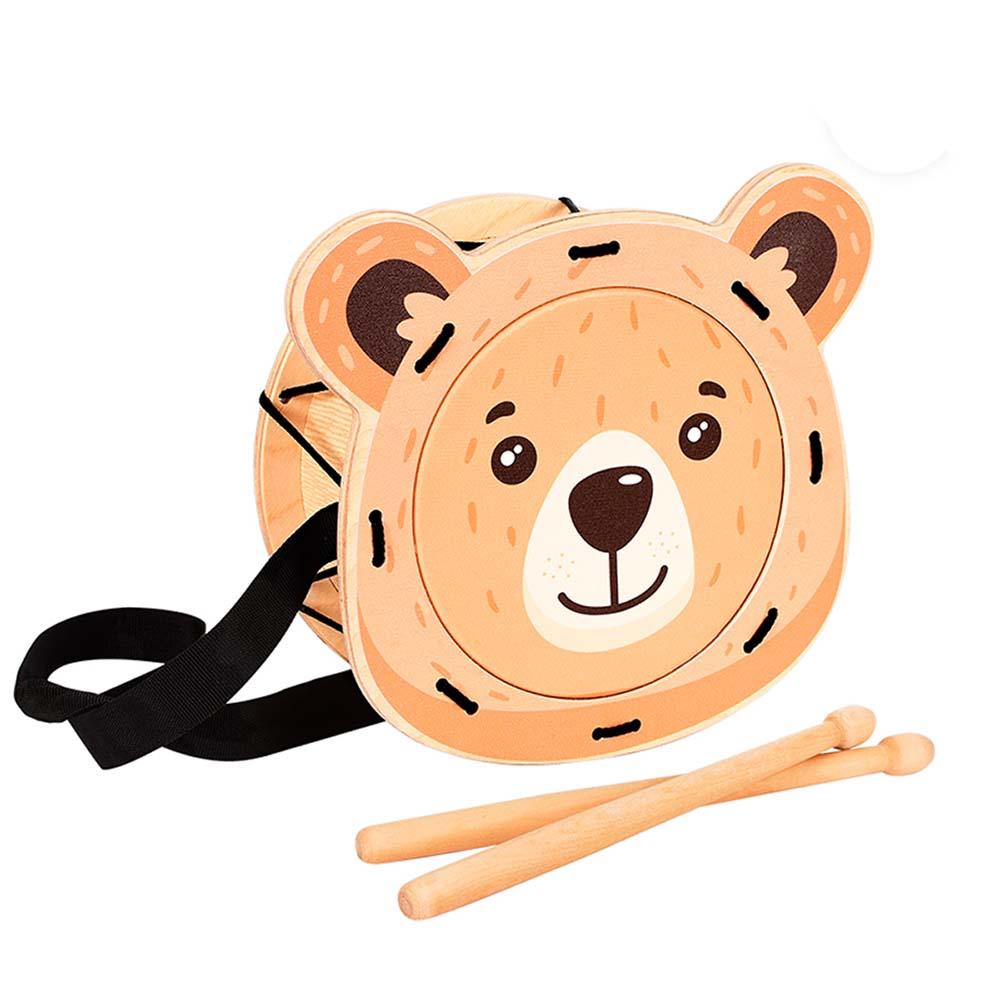 Игрушка детская барабан «Мишка»