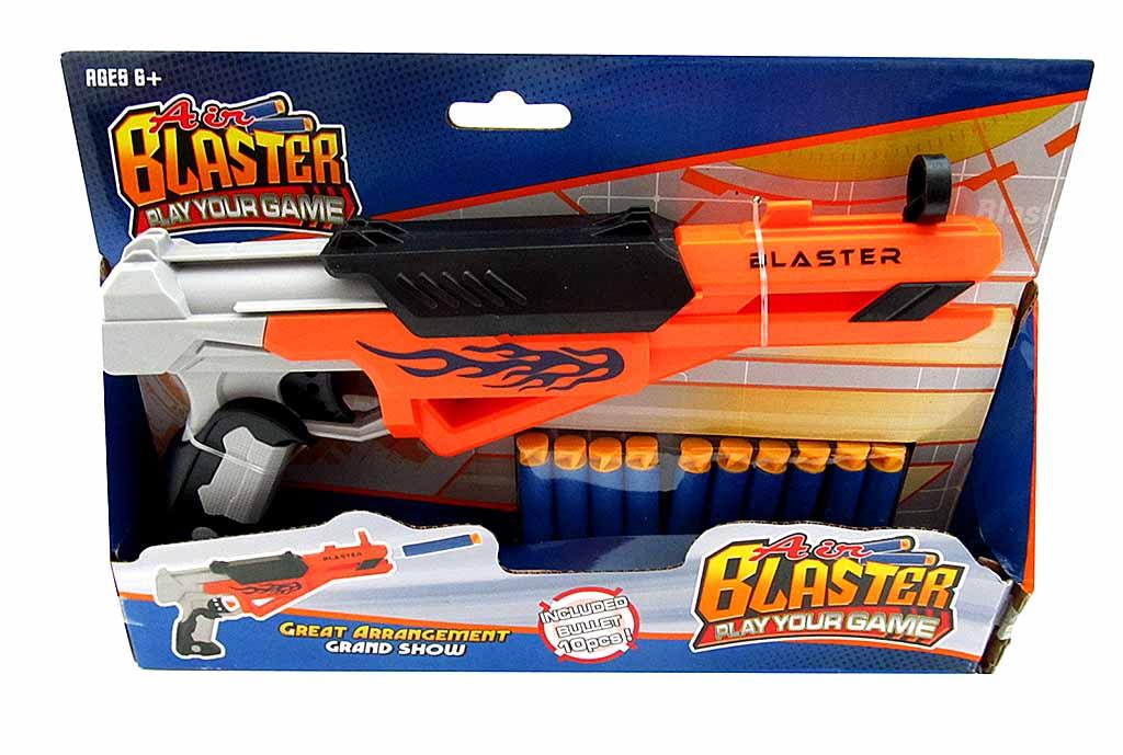 Бластер №FX5048 с мягкими пулями