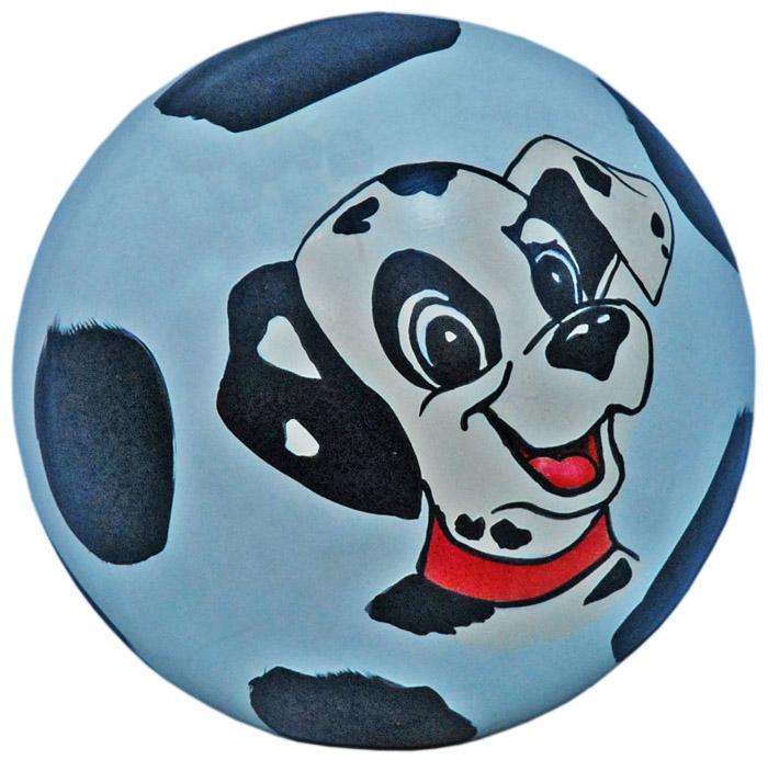 Мяч (1-2цвет) с руч-ной раскр. (сказ) д.150мм лак.с-49ЛП (рисунок), арт. С-49ЛП