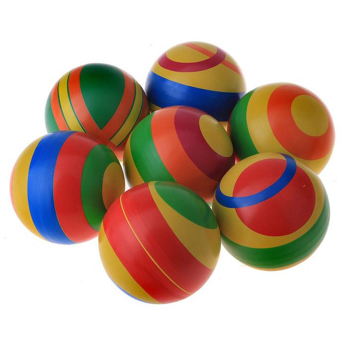 Мяч д. 100мм с-99ЛП (ассорти), арт. С-99ЛП