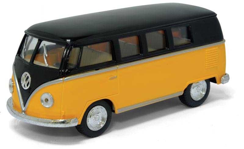 1:32 1962 Volkswagen Classical Bus с черной крышей 5376D