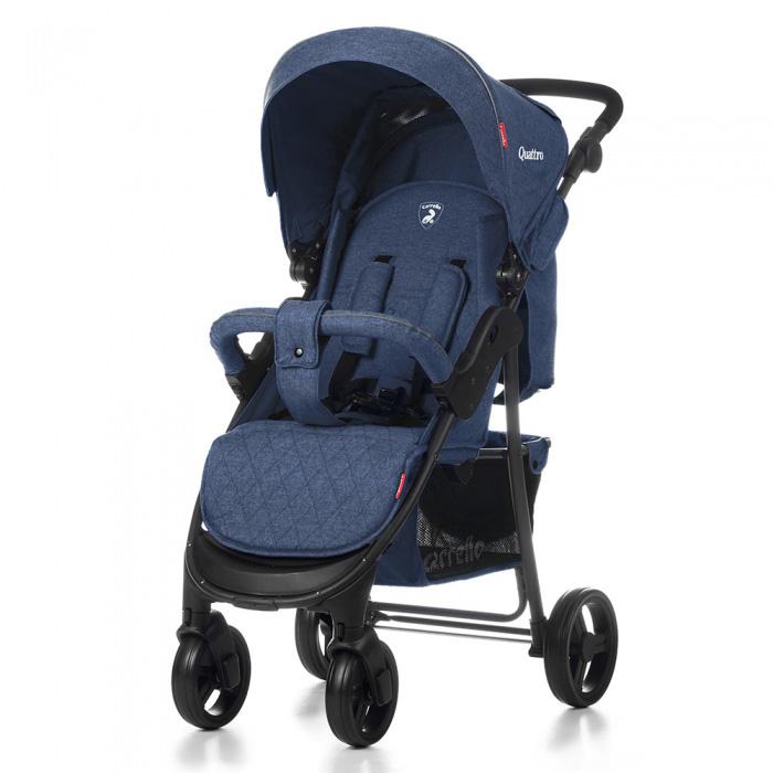 Детская коляска CARRELLO Quattro CRL-8502  BLUE / Deep Water