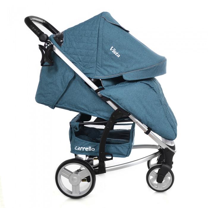 Детская коляска CARRELLO Vista CRL-8505 Water Blue