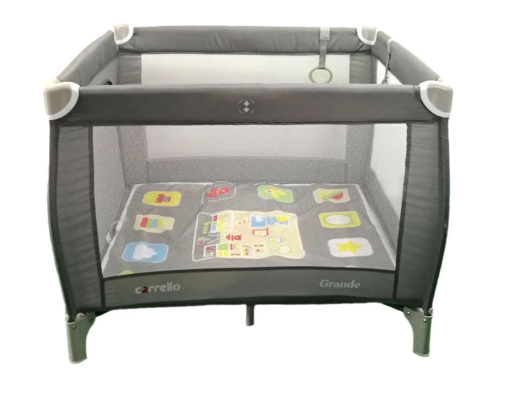 Манеж детский CARRELLO GRANDE CRL-11502 Ash Grey