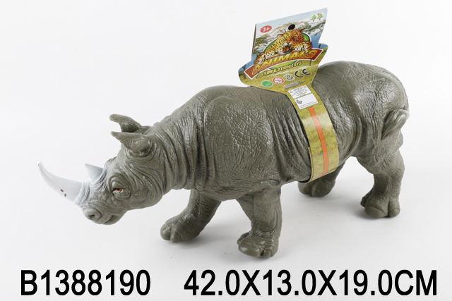 """Животные """"Носорог"""" (издаёт звуки животного) 1388190/703-2"""