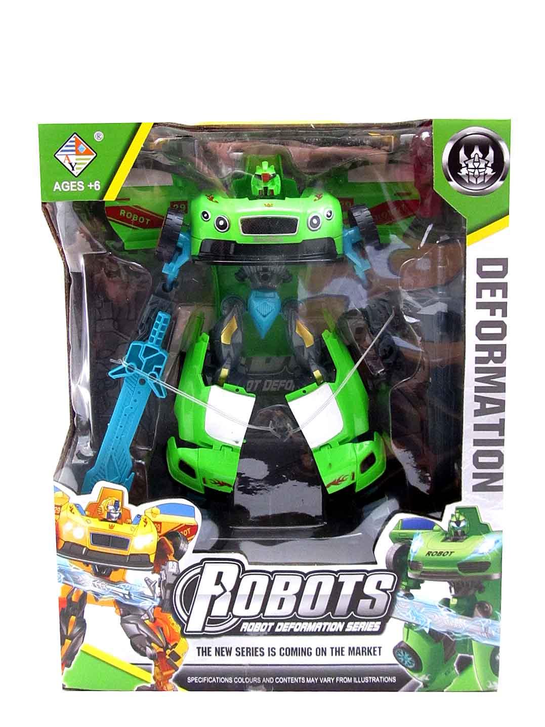 Трансформер-робот №HY-9988
