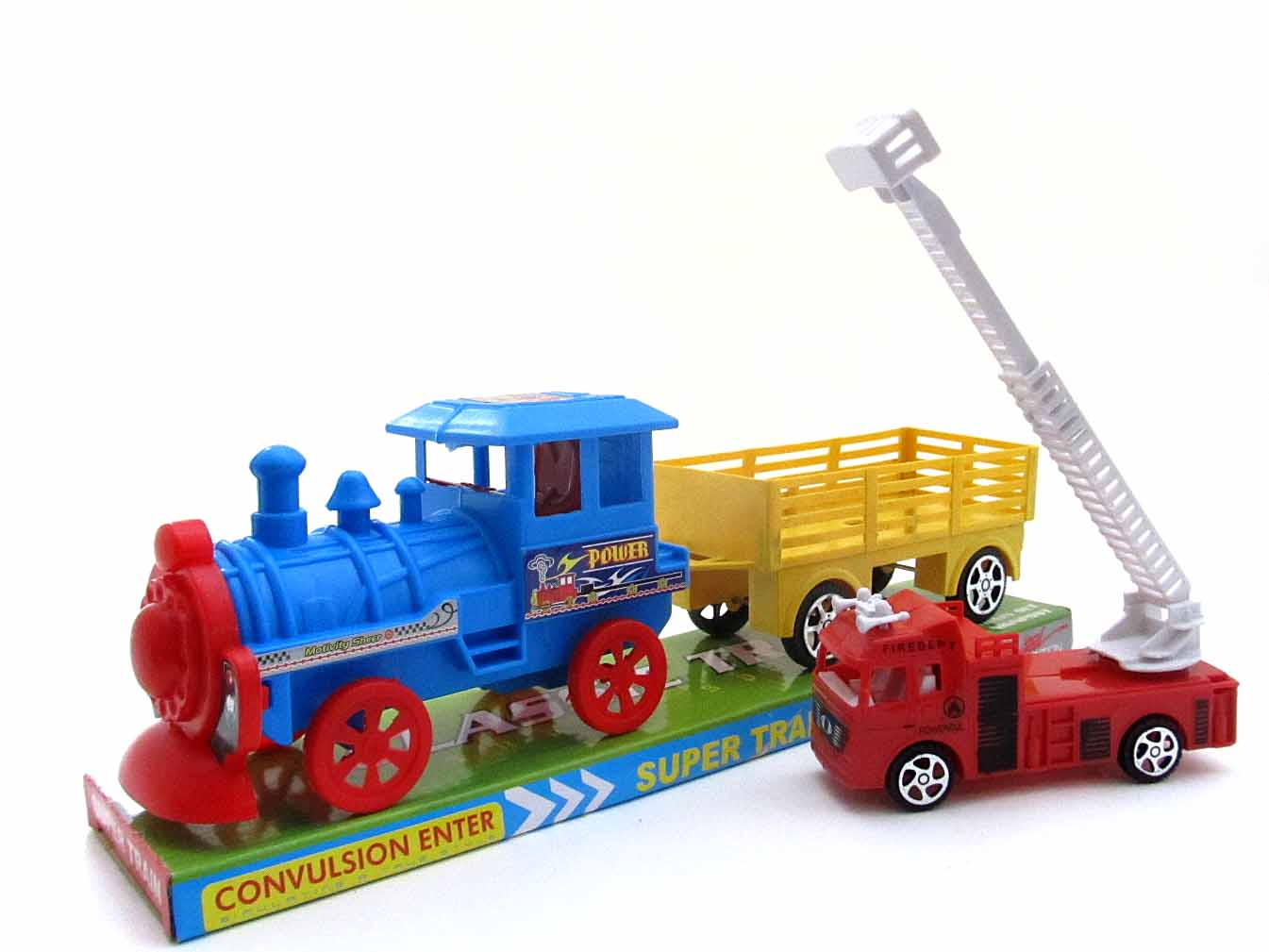 Поезд с прицепом №2033