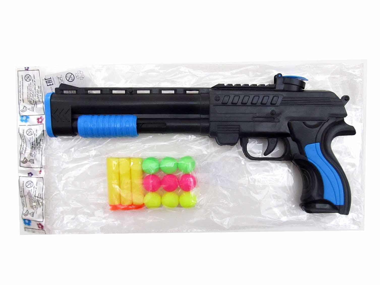 Оружие №2014-01 с мягкими пульками и шариками