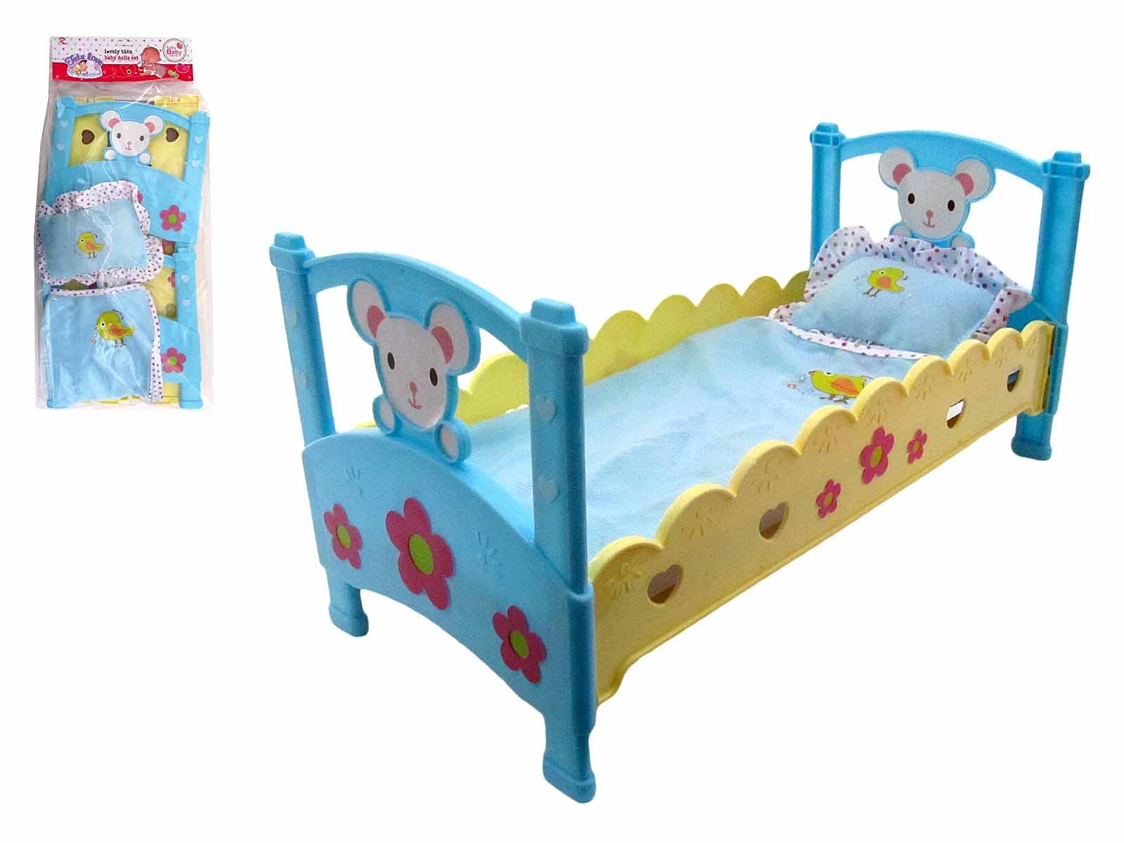 Кроватка для кукол №6895-1
