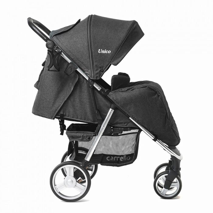 Детская коляска CARRELLO  Unico  CRL-8507 Frost Gray