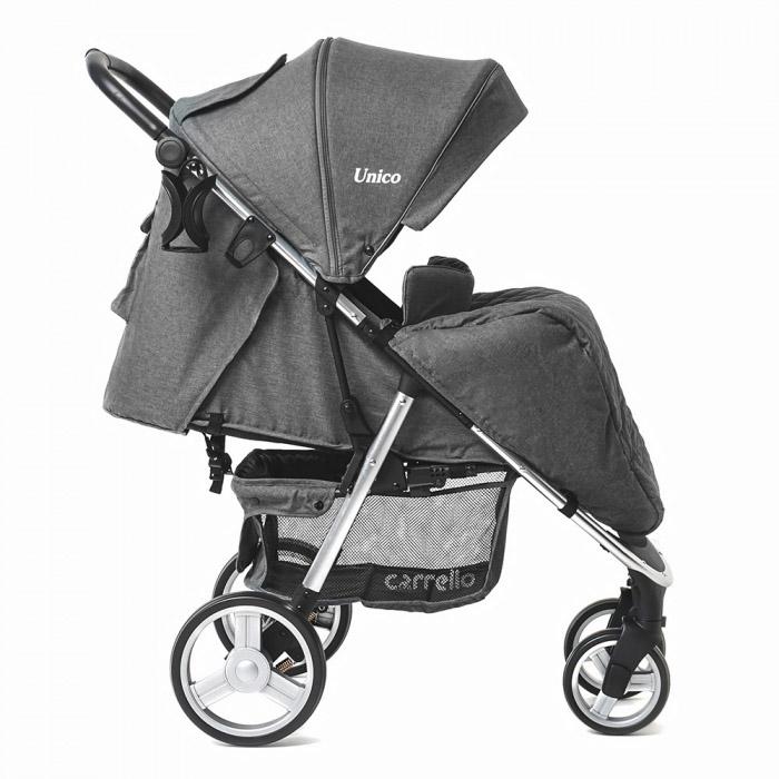 Детская коляска CARRELLO  Unico  CRL-8507 Storm Gray