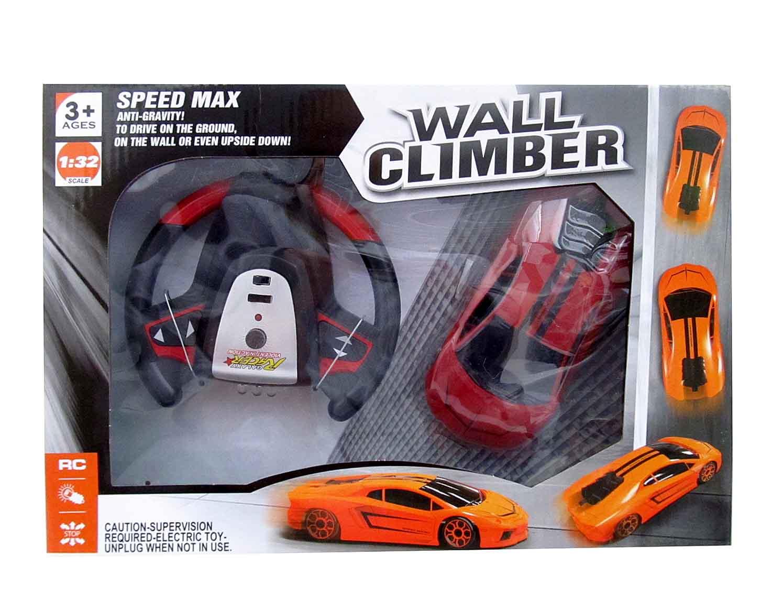 Машинка (ездит по стенам) на Р/У 866-9-10