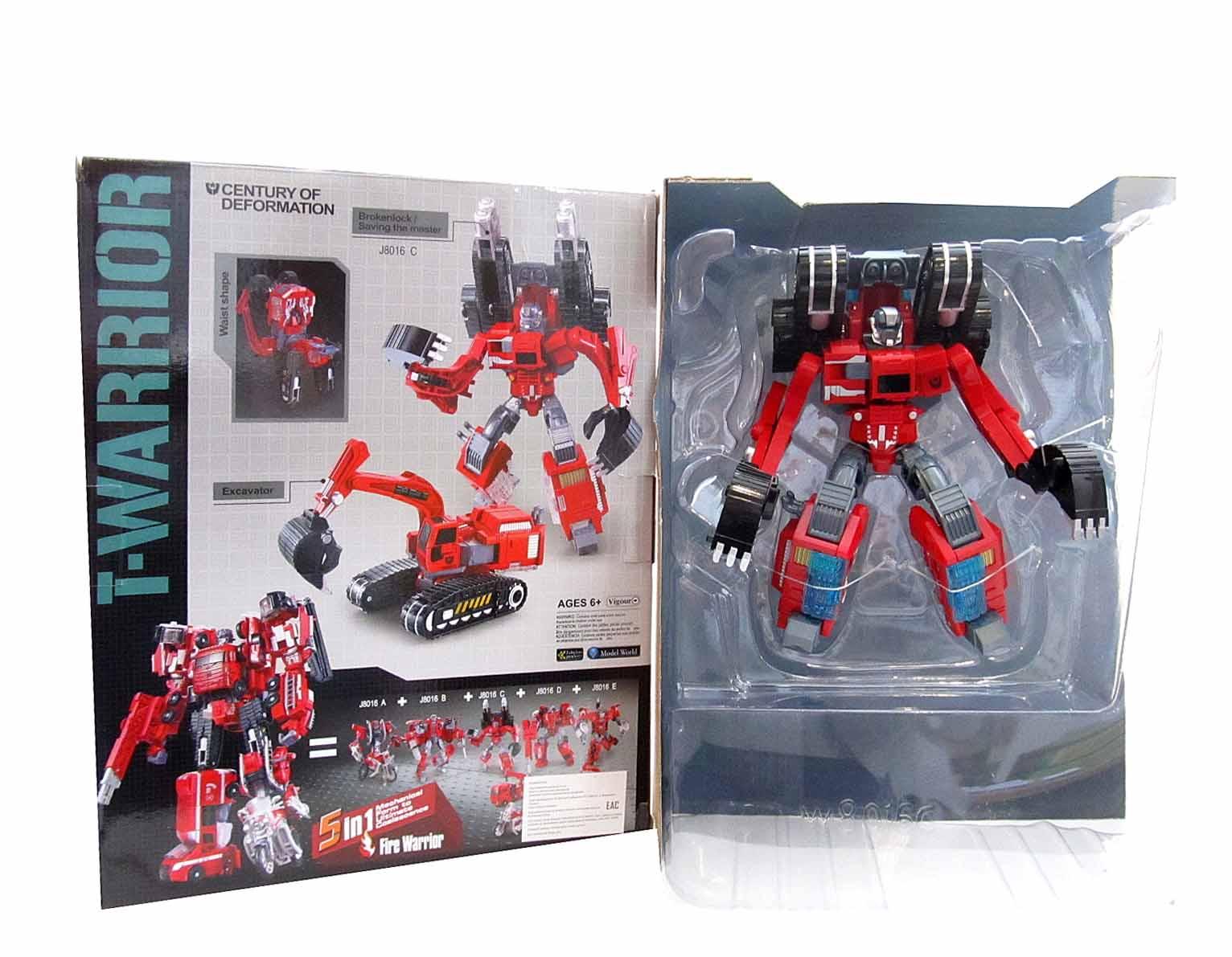 Робот Трансформер J8016C