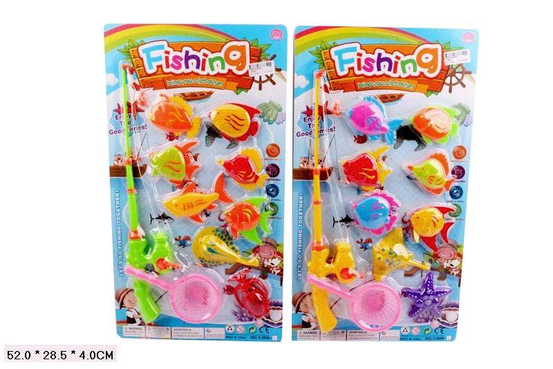 Рыбалка,2 вида,цвета микс 808-1