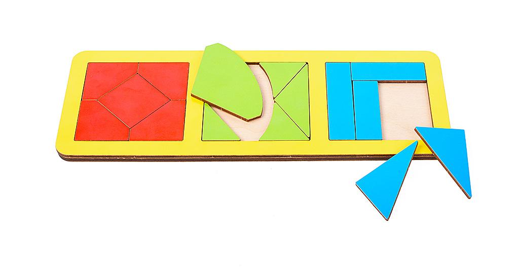 Игрушка детская:01018Вкладыш 17 элементов (по системе раннего развития) цвет в асс-те