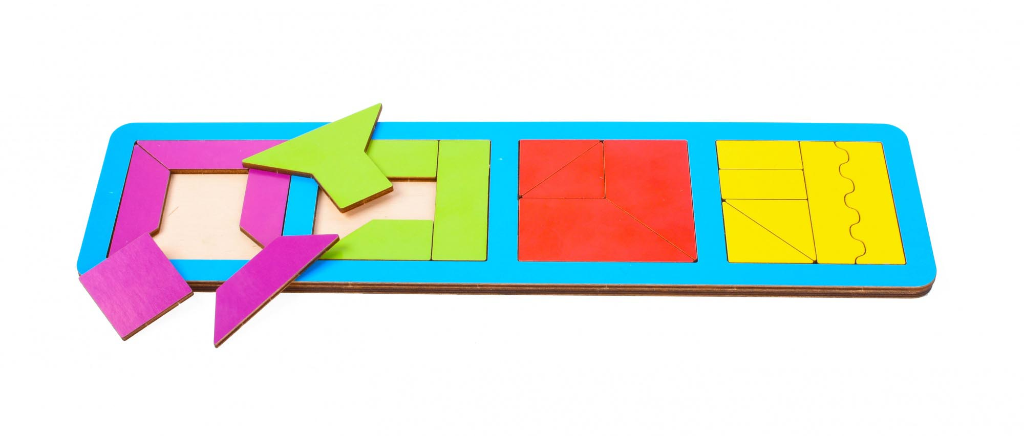 Игрушка детская:01028 Вкладыш 20 элементов (по системе раннего развития) цвет в асс-те