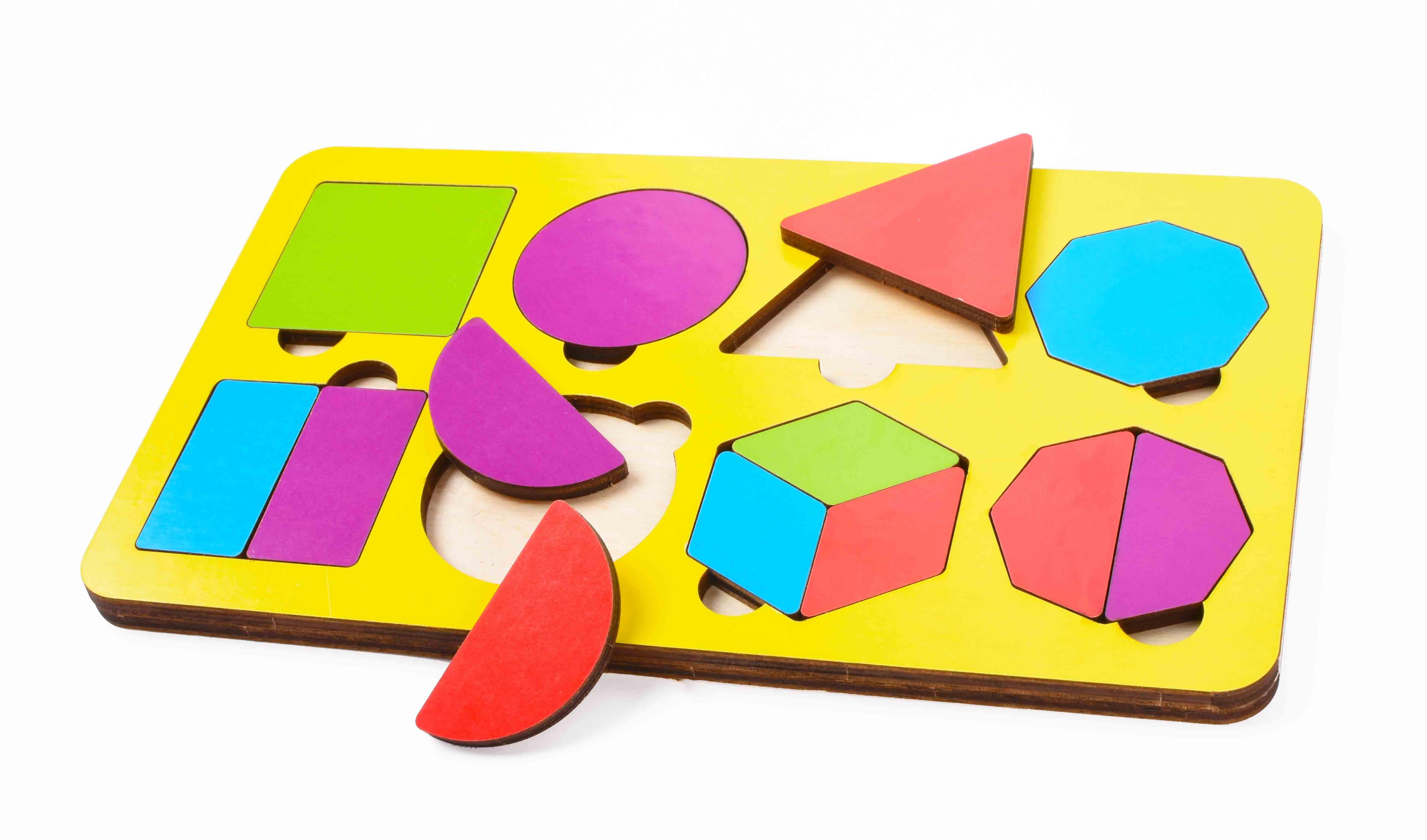Игрушка детская:04038 Вкладыш 14 элементов (по системе раннего развития) цвет в асс-те