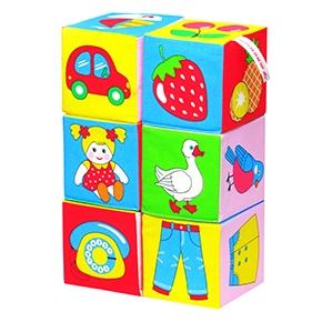 "Игрушка кубики ""Мякиши"" (Предметы) (6 кубиков) (Арт. 001)"