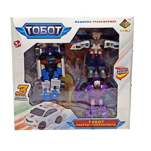 Робот (3 героя) DT339-2