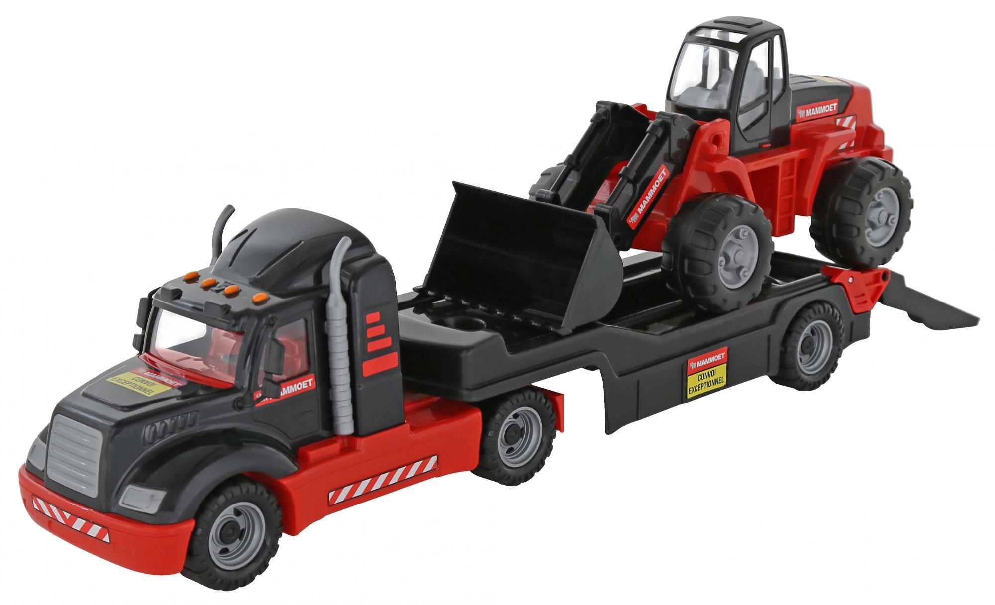 """206-01 """"MAMMOET"""", автомобиль-трейлер + трактор-погрузчик 56993"""
