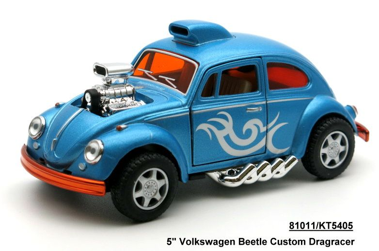 1:38 Volkswagen Beetle гоночная раскрашенная 5405D