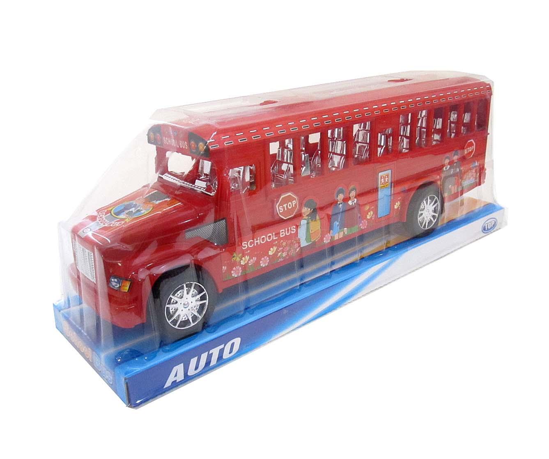 Автобус №725-1 инерционный/пакет/39,5*11*14