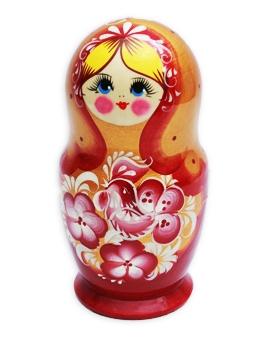 Игрушка деревянная. МАТРЕШКА ВОЛШЕБНАЯ ПТИЦА (5-ти кукольная) (Арт. ИД-6092)