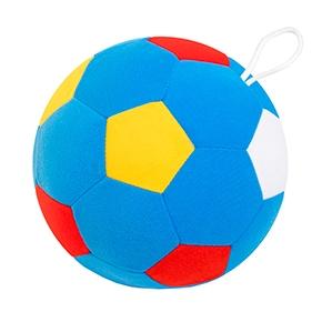 """Игрушка """"Футбольный мяч"""" (вариант 3) (Арт. 441) 18см, мягкий с погрем"""