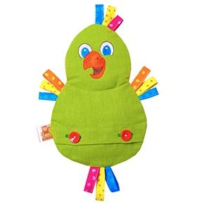Игрушка «Доктор Мякиш - Попугай» (с вишневой косточкой) (Арт. 240)