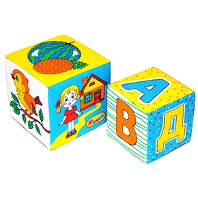 "Игрушка кубики ""Мякиши""(АБВГДЕйка) (Арт. 170)"