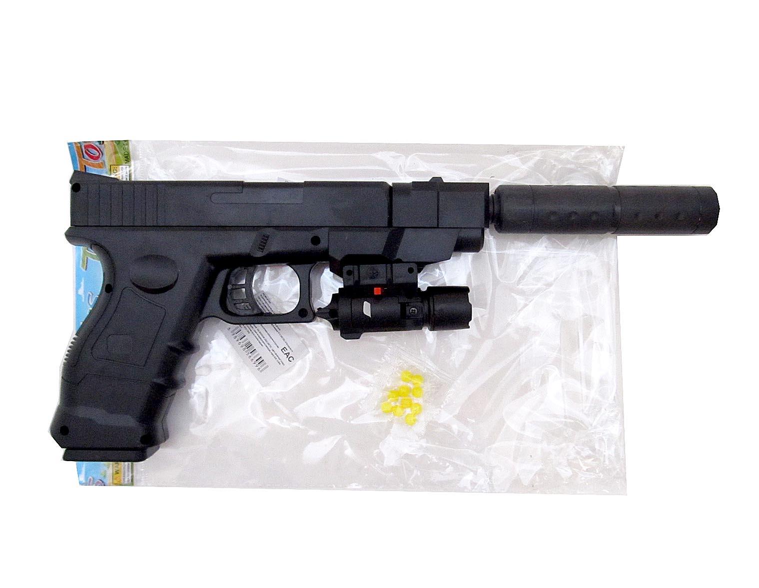 Пистолет с пульками F2698A-4